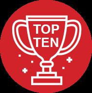 Ícono top ten